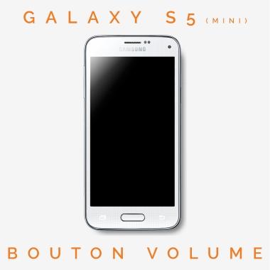 Réparation bouton volume Galaxy S5 mini (SM-G800)
